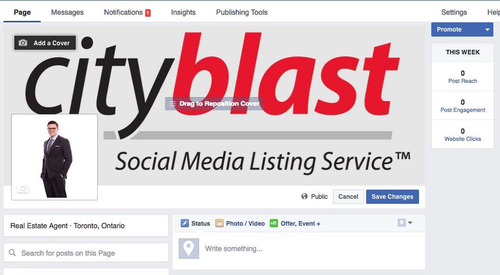 How To Create a Facebook Fanpage For Your Real Estate Business